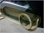 Закрытый ящик под Dynaudio mw 172 в Outlander XL-foto0039.jpg